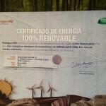 100%Energía renovable